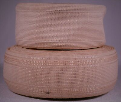 "721g rolls of 2"" inch light pink woven elastic (b stock segmented)"