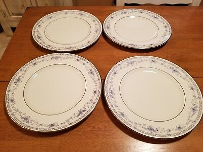 "4 Minton Bellemeade 10 5/8"" Dinner Plates all Excellent Condition"