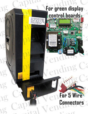 New American Changer Rear Load Yellow Hopper for Green Display Control Boards