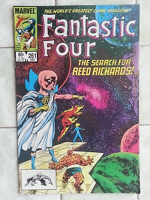 Fantastic Four # 261 / Silver Surfer / Watcher / Lilandra appears last page !
