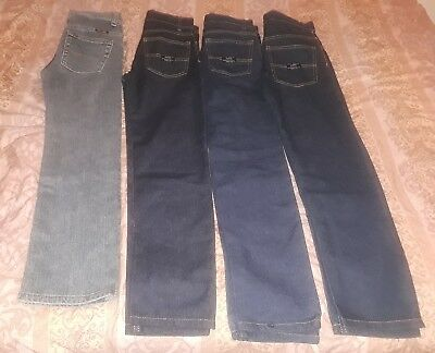 U.S. Polo boys jeans lot 4 pairs size 10 nice jeans!!!