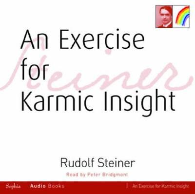 An Exercise for Karmic Insight by Steiner, Rudolf | Audio CD Book | 978185584220