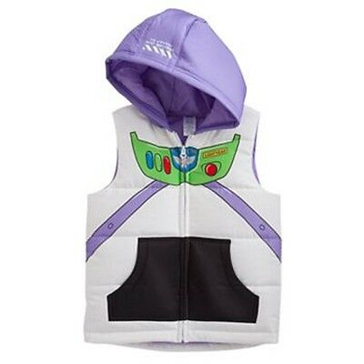 Disney Pixar Toy Story Buzz Lightyear Puffer Vest by Jumping Beans - Sizes 7-NEW