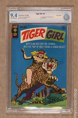 Tiger Girl 1A 1968 Ad Back Cover Variant CBCS 9.4