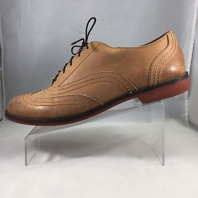 065cfd08330fb Lucky Brand Shoes Womens Oxfords Brown US 8 M EU 38 Leather Wing Tip
