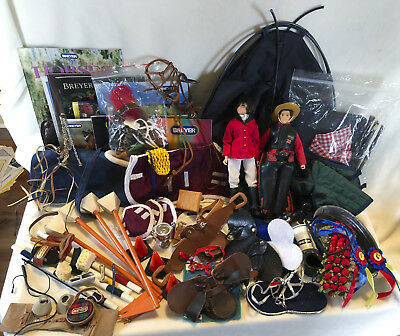 Breyer Model Horse Accessories Play Lot Camping Traditional Tack Saddle Bridle