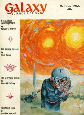 Galaxy Science Fiction (pulp/digest) #Vol. 25 #1 1966 VG 4.0 Stock Image