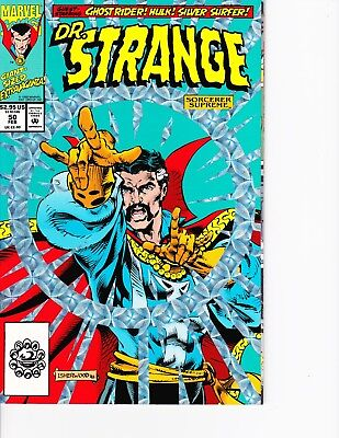 Dr. Strange #50 Holofoil cover! Silver Surfer! Hulk! FREE SHIPPING AVAILABLE!