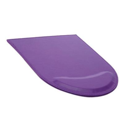 PU Leather Mouse Mat Pad High Quality Thick Non Slip Foam 25 x 20cm Purple