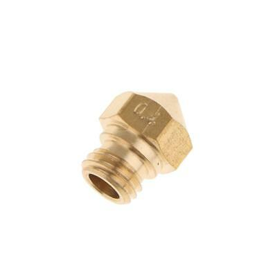 Brass Extruder Print Head Nozzle 0.4mm Printhead For 1.75MM MK10 3D Printer