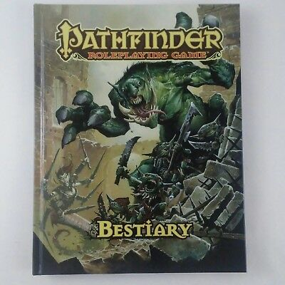 2011 Paizo Pathfinder Roleplaying Game Bestiary PZO1112