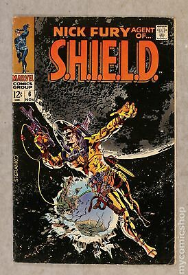 Nick Fury Agent of SHIELD (1st Series) #6 1968 VG+ 4.5