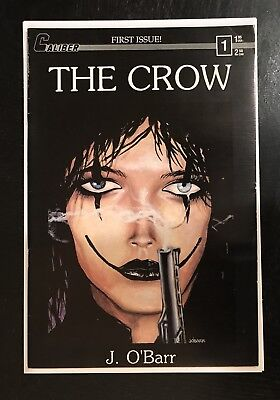 The Crow #1 Caliber O Barr (2Nd Print) Lot Crow Dead Time 1, City Of Angels 1 2