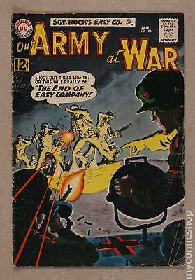 Our Army at War #126 1963 GD+ 2.5