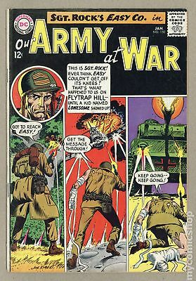 Our Army at War #150 1965 VG 4.0