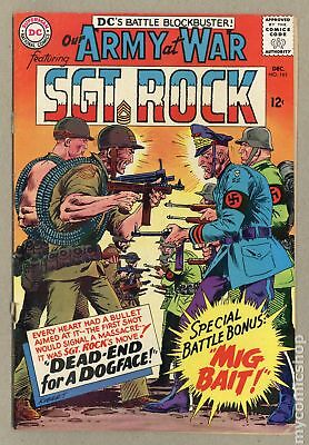 Our Army at War #161 1965 GD/VG 3.0