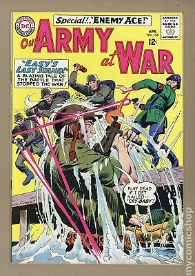 Our Army at War #153 1965 VG+ 4.5
