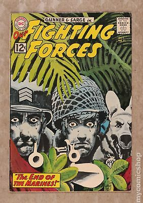 Our Fighting Forces #71 1962 VG+ 4.5
