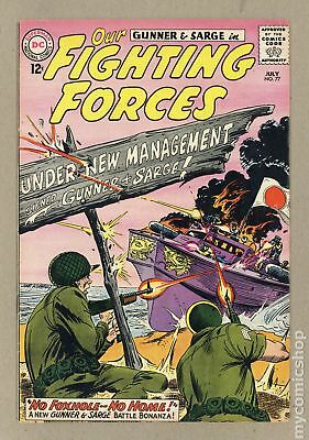 Our Fighting Forces #77 1963 VG+ 4.5
