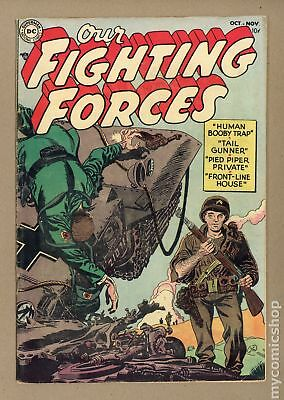 Our Fighting Forces #1 1954 VG- 3.5