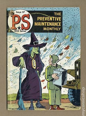 PS The Preventive Maintenance Monthly #37 1956 GD 2.0
