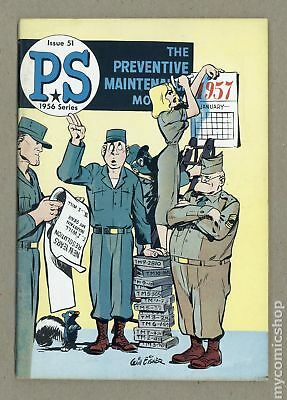 PS The Preventive Maintenance Monthly #51 1957 FN 6.0