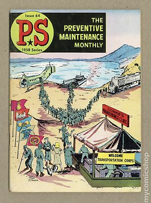 PS The Preventive Maintenance Monthly #64 1958 VG 4.0