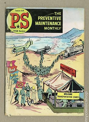 PS The Preventive Maintenance Monthly #64 1958 VG- 3.5