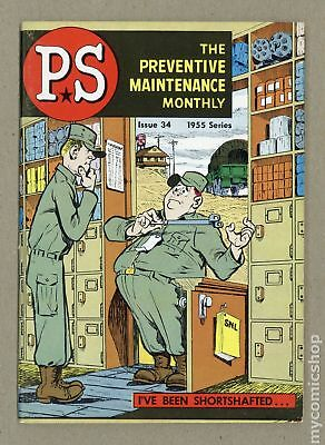 PS The Preventive Maintenance Monthly #34 1956 VG 4.0