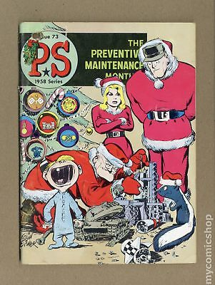 PS The Preventive Maintenance Monthly #73 1959 VG- 3.5
