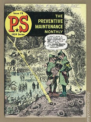 PS The Preventive Maintenance Monthly #78 1959 VG- 3.5