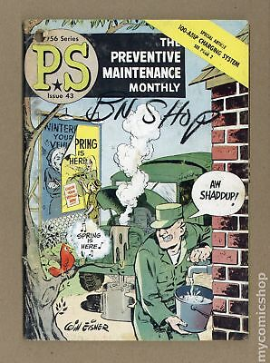 PS The Preventive Maintenance Monthly #43 1956 GD 2.0