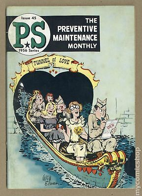 PS The Preventive Maintenance Monthly #45 1956 VG 4.0
