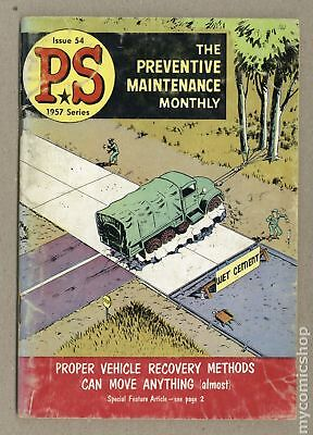 PS The Preventive Maintenance Monthly #54 1957 VG- 3.5