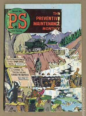 PS The Preventive Maintenance Monthly #66 1958 GD+ 2.5