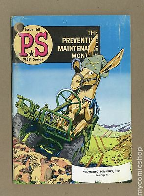 PS The Preventive Maintenance Monthly #68 1958 VG- 3.5