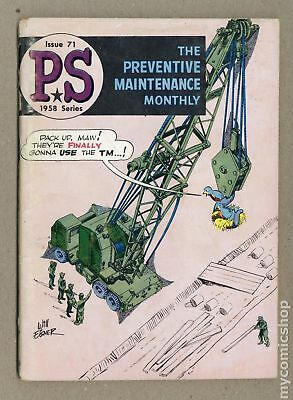 PS The Preventive Maintenance Monthly #71 1959 GD/VG 3.0