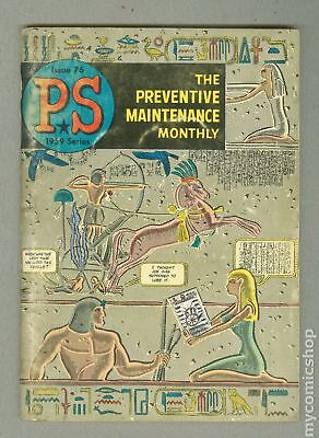 PS The Preventive Maintenance Monthly #76 1959 VG 4.0