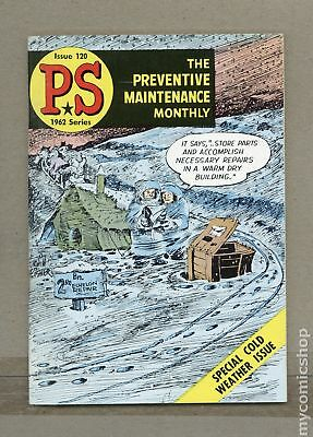 PS The Preventive Maintenance Monthly #120 1962 FN 6.0