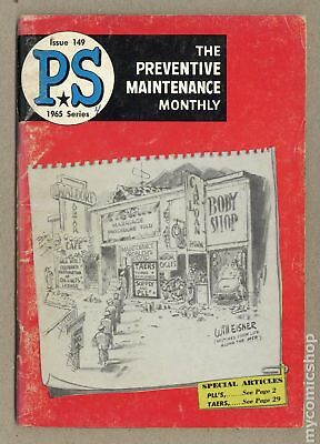PS The Preventive Maintenance Monthly #149 1965 VG- 3.5
