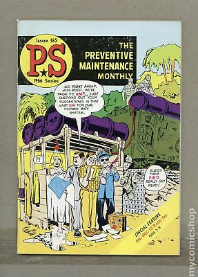 PS The Preventive Maintenance Monthly #165 1966 VG/FN 5.0