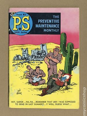 PS The Preventive Maintenance Monthly #82 1960 VG- 3.5