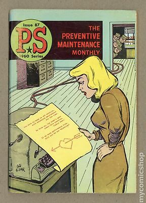 PS The Preventive Maintenance Monthly #87 1960 VG 4.0