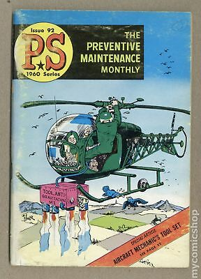 PS The Preventive Maintenance Monthly #92 1960 GD/VG 3.0