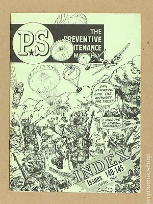 PS The Preventive Maintenance Monthly Index #196407 FN 6.0