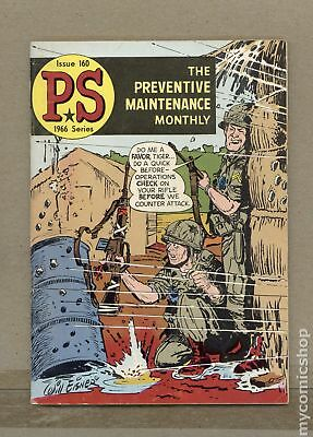 PS The Preventive Maintenance Monthly #160 1966 VG/FN 5.0