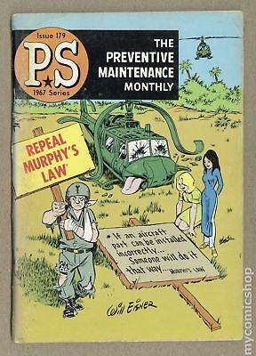 PS The Preventive Maintenance Monthly #179 1967 VG- 3.5 Low Grade