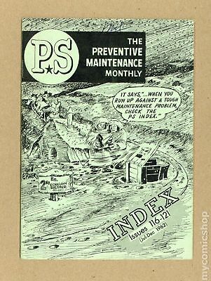 PS The Preventive Maintenance Monthly Index #196207 FN+ 6.5