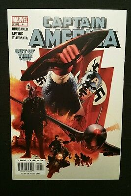 Captain America #6 (Jun 2005, Marvel) 1st Winter Soldier