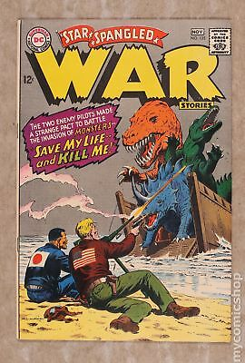 Star Spangled War Stories (DC) #3 to 204 #135 1967 FN 6.0